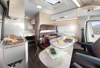 Wohnmobile Reisemobile Innenansicht